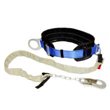 Пояс предохранительный безлямочный ПБ1 с цепным стропом