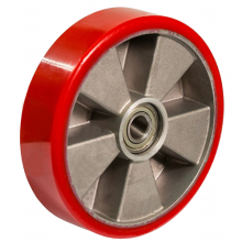 Колесо для тележек полиуретановое с подшипником